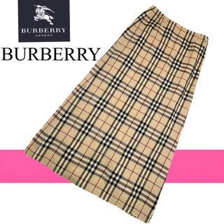 バーバリー(BURBERRY)のバーバリー ロンドン burberry london チェック スカート S(ロングスカート)
