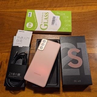 Galaxy - サムスン Samsung galaxy s21 256GB simフリー