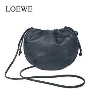 LOEWE - ロエベ デカロゴ 巾着ショルダーバッグ 巾着ポシェット