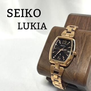Grand Seiko - 【極美品】セイコー ルキア 腕時計 電波ソーラー デイト 石入り 箱付き