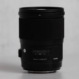 シグマ(SIGMA)の専用 sigma 28mm & sigma105mm f1.4 2台(レンズ(単焦点))