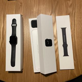 Apple Watch - Apple Watch Series 5 44mm アップルウォッチ ブラック