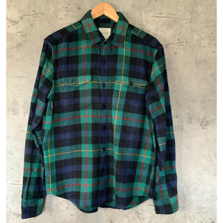 アメリカンイーグル(American Eagle)のアメリカンイーグル チェックシャツ 緑チェック American Eagle(シャツ)