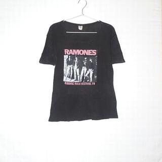 ヒステリックグラマー(HYSTERIC GLAMOUR)の▪️79's【RAMONES】VINTAGE TEE②(Tシャツ(半袖/袖なし))