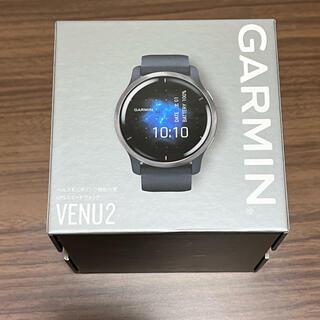 ガーミン(GARMIN)の★美品★GARMIN Venu2 GraniteBlue/Silver(トレーニング用品)