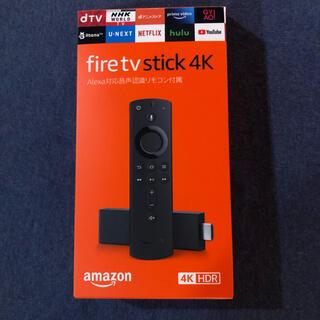 アップル(Apple)のFire TV Stick 4K Alexa対応音声認識リモコン付 本体 (その他)