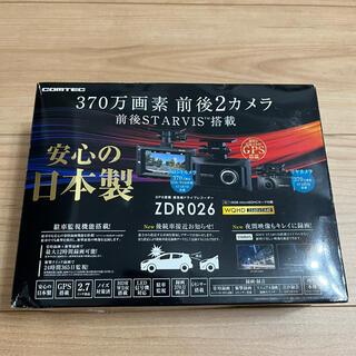 COMTEC コムテック ZDR026 ドライブレコーダー 前後カメラ