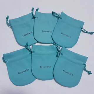 ティファニー(Tiffany & Co.)のティファニー 巾着A 保存袋 6枚(ショップ袋)
