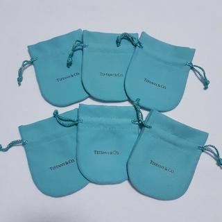 ティファニー(Tiffany & Co.)のティファニー 巾着B 保存袋 6枚(ショップ袋)