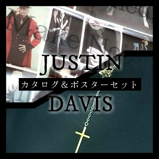 Justin Davis - Justin Davis☠️カタログ&ポスターセット✨