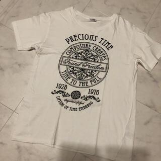 メンズ☆トップス☆Tシャツ☆白☆薄手☆
