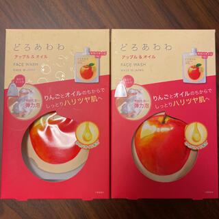 ケンコー(Kenko)のどろあわわ 限定品 アップル&オイル ホホバオイルin りんご 2個セット(洗顔料)