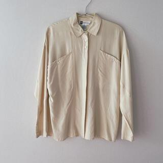 ヴィンテージ リネンシャツ