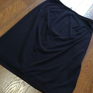 レオナール(LEONARD)の7 S 超美品 レオナール スカート 黒(ロングスカート)