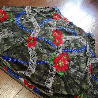 レオナール(LEONARD)の9 S 超美品 レオナール スカート(ひざ丈スカート)