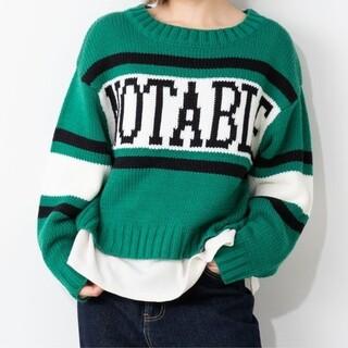 ウィゴー(WEGO)のウィゴー★新品★ショート丈 ニットセーター(ニット/セーター)