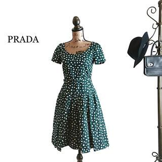 PRADA - PRADA プラダ ワンピース ドレス