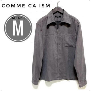 コムサイズム(COMME CA ISM)のコムサイズム メンズ スエード風 ジャケット M グレー(シャツ)