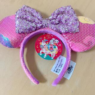 Disney - 上海ディズニー限定 ミニー カチューシャ ピンク