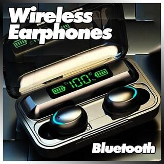 Bluetooth ワイヤレスイヤホン ブルートゥース 高音質 充電ケース付き