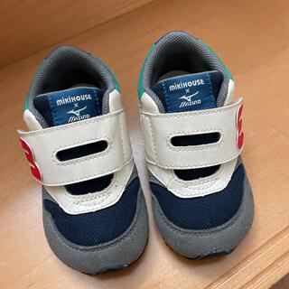 ミキハウス(mikihouse)のミキハウス 子供靴  ミズノ コラボ ベビーシューズ 13.5cm(スニーカー)