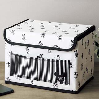 ミッキーマウス(ミッキーマウス)のInRed 2021年8月号【付録】ミッキーマウスデザイン 収納ボックス(小物入れ)