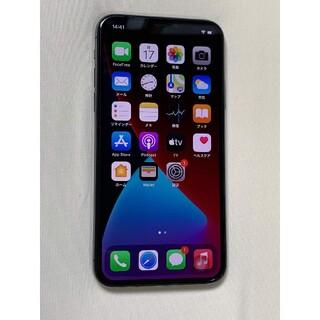 【美品】iPhone X Space Gray 64GB SIMフリー 中古