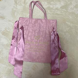 Maison de FLEUR - メゾンドフルール ピンク トートバッグ Maison de FLEUR