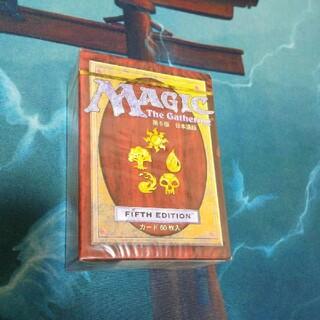 マジックザギャザリング(マジック:ザ・ギャザリング)の【新品未開封】第5版 スターターセット 日本語版(Box/デッキ/パック)