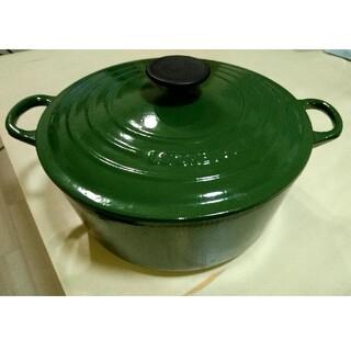 ルクルーゼ(LE CREUSET)のLE CREUSET ル・クルーゼ 24cm ココットロンド(鍋/フライパン)