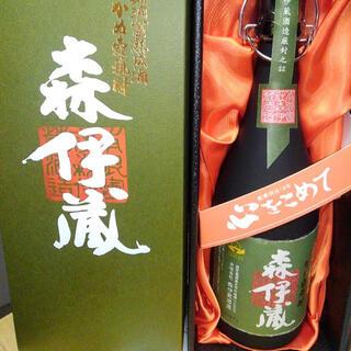 タカシマヤ(髙島屋)の森伊蔵極上の一滴(焼酎)