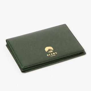BEAMS JAPAN パス & カードケース ビームス グリーン