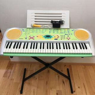 カシオ(CASIO)のCASIO カシオ 電子ピアノ  電子キーボード 光ナビゲーション LK-37(電子ピアノ)