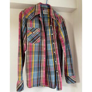 ヒステリックグラマー(HYSTERIC GLAMOUR)のhysteric glamour チェックシャツ(Tシャツ/カットソー(七分/長袖))