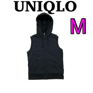 ユニクロ(UNIQLO)のUNIQLO  レディース ボアベスト M(ベスト/ジレ)