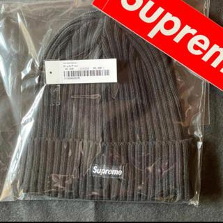 Supreme - Supreme Overdyed Beanieニット帽 ブラック シュプリーム