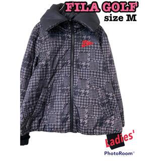 フィラ(FILA)のFILA GOLF フィラ ゴルフ ブルゾン ジャンパー ダウン リバーシブル(ウエア)