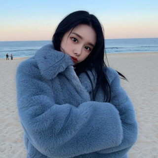 STYLENANDA - 【予約商品】《4カラー》フェイクファー ボア コート アウター 韓国ファッション
