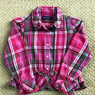ラルフローレン(Ralph Lauren)のラルフローレン チェックのシャツ サイズ110  RALPH LAUREN(その他)