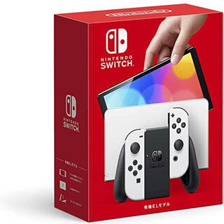 Nintendo Switch - NintendoSwitch 有機el ホワイト 新品未開封
