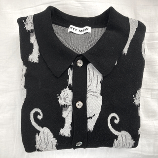 TTT_MSW 21AW Panther Knit Cardigan