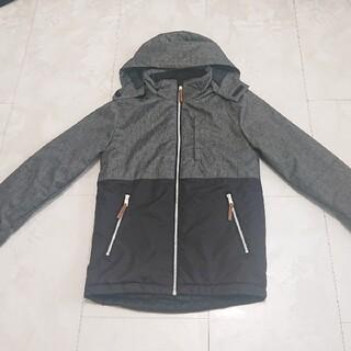 エイチアンドエム(H&M)のH&M 中綿 フリース  アウター 防寒 防水 146 グレー ジャケット(ジャケット/上着)