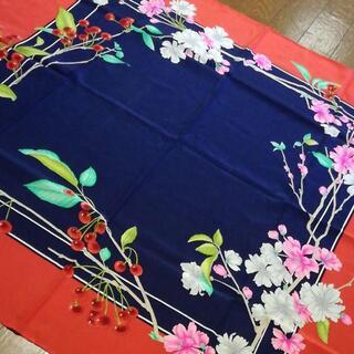 レオナール(LEONARD)の524 A 美品 レオナール スカーフ(バンダナ/スカーフ)