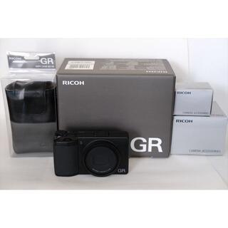 リコー(RICOH)のRICOH GR3 美品 純正オプション付 リコー GRⅢ(コンパクトデジタルカメラ)