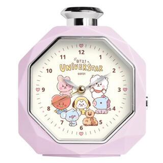 防弾少年団(BTS) - BT21 baby パフューム型 香水瓶 目覚まし時計 クロック