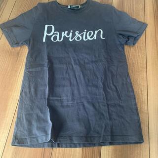 メゾンキツネ(MAISON KITSUNE')のメゾンキツネTシャツ ブラック レディース(Tシャツ(半袖/袖なし))