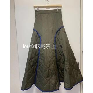 キルティングボリュームスカート UN3D