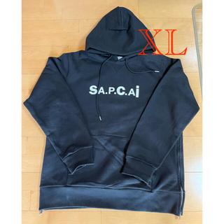 sacai - sacai APC コラボ パーカー ブラック XL