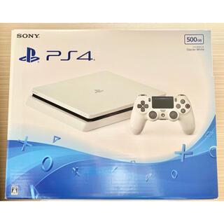 PlayStation4 - 【美品】PS4 本体 グレイシャーホワイト 500GB