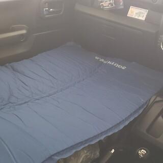 ジムニー車中泊専用サイズエアマット(寝袋/寝具)